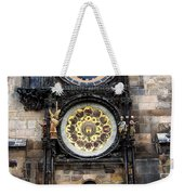 Prague Astronomical Clock Weekender Tote Bag
