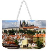 Prague Skyline Weekender Tote Bag
