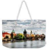 Prague Panorame Weekender Tote Bag