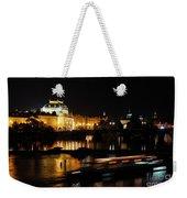Prague National Theater Weekender Tote Bag