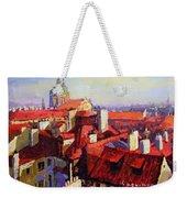 Prague Old Roofs 04 Weekender Tote Bag