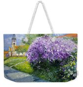 Prague Spring Loreta Lilacs Weekender Tote Bag
