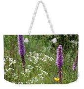 Prairie Blossoms Weekender Tote Bag
