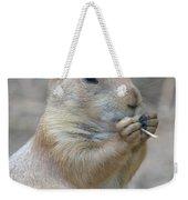 Prairie Dog Treat Weekender Tote Bag