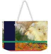 Prairie Grasses Amid The Rocks Weekender Tote Bag