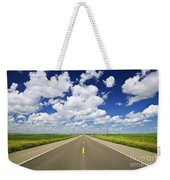 Prairie Highway Weekender Tote Bag
