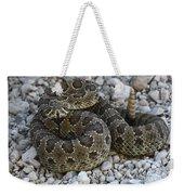 Prairie Rattlesnake South Dakota Badlands Weekender Tote Bag