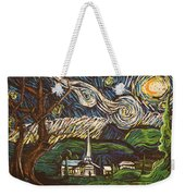 Praise To The Light Weekender Tote Bag
