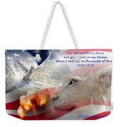 Pray For Our Nation Weekender Tote Bag