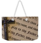 Pray To Thy Father Weekender Tote Bag