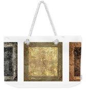 Prayer Flag Triptych Series Two Weekender Tote Bag