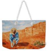 Prayer For Earth Mother Weekender Tote Bag