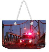 Prayer For Emergency Health Care First Responders Weekender Tote Bag