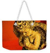 Praying Angel Weekender Tote Bag by Susanne Van Hulst