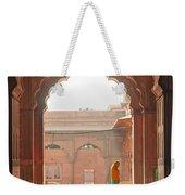 Praying At The Jama Masjid Mosque - Old Delhi Weekender Tote Bag