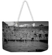 Praying At The Western Wall Weekender Tote Bag