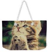 Praying Cat Weekender Tote Bag