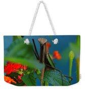 Praying Mantis Weekender Tote Bag