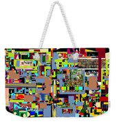 precious is man for he is created in the Divine Image 3 Weekender Tote Bag by David Baruch Wolk