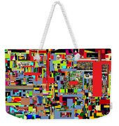 precious is man for he is created in the Divine Image 4 Weekender Tote Bag