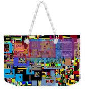 precious is man for he is created in the Divine Image 6 Weekender Tote Bag by David Baruch Wolk