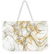 Precious Metal 1 White Decorator Collection 1 Weekender Tote Bag