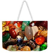Precious Stones Weekender Tote Bag by Frozen in Time Fine Art Photography