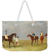 Preparing To Start For The Doncaster Gold Cup 1825 Weekender Tote Bag