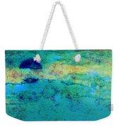 Prescott Blue Abstract Weekender Tote Bag