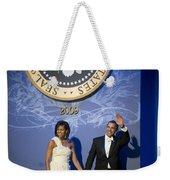 President And Michelle Obama Weekender Tote Bag by had J McNeeley