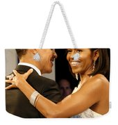 President And Michelle Obama Weekender Tote Bag by Official Government Photograph