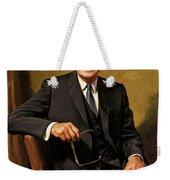 President Dwight D. Eisenhower By J. Anthony Wills Weekender Tote Bag