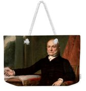 President John Quincy Adams  Weekender Tote Bag