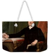 President John Quincy Adams  Weekender Tote Bag by War Is Hell Store