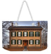 President Lincoln Home Springfield Illinois Weekender Tote Bag