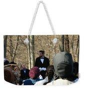 President Lincoln Speaks Weekender Tote Bag