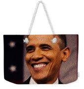 President Obama Weekender Tote Bag by Mim White