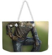 President Ronald Reagan Statue Weekender Tote Bag
