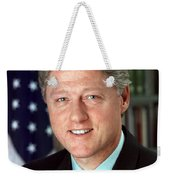 President William J. Clinton Weekender Tote Bag