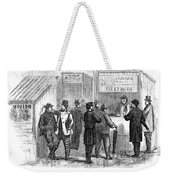 Presidential Election, 1864 Weekender Tote Bag