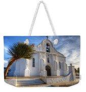 Presidio Chapel San Elizario Texas Weekender Tote Bag