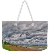 Presque Isle Beach 12061 Weekender Tote Bag