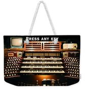 Press Any Key Weekender Tote Bag