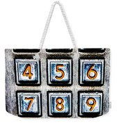 Press Three And Try Again Weekender Tote Bag