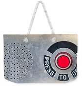 Press To Order Weekender Tote Bag