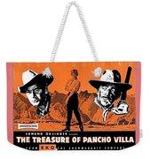 Pressbook The Treasure Of Pancho Villa 1955 Weekender Tote Bag