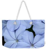 Prettiest Plumbago Weekender Tote Bag