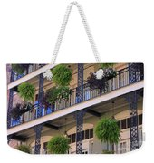 Pretty Balcony Weekender Tote Bag
