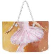 Pretty Ballerina Weekender Tote Bag by Lourry Legarde