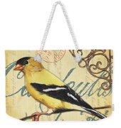 Pretty Bird 3 Weekender Tote Bag